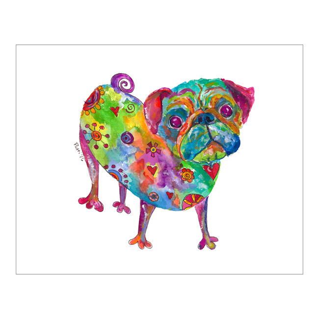 Whimsical Pug