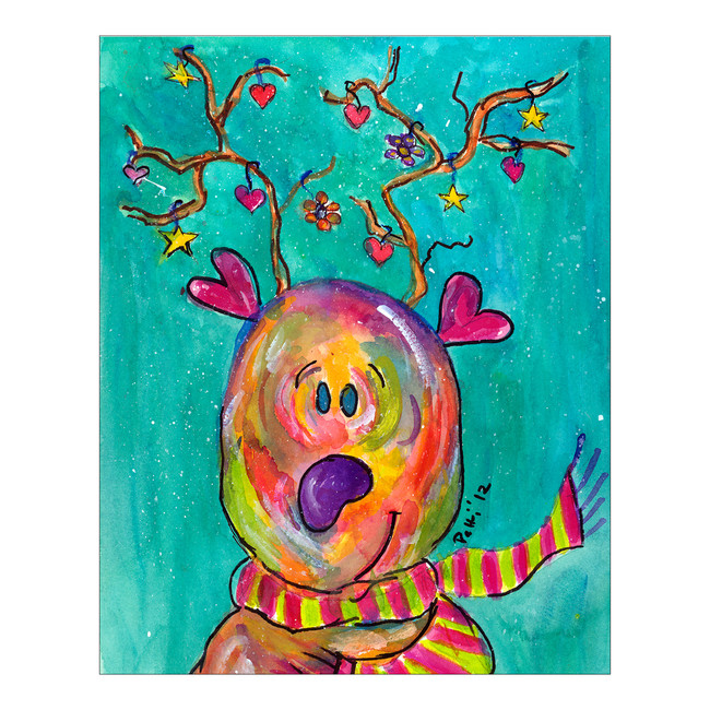 Whimsical Reindeer
