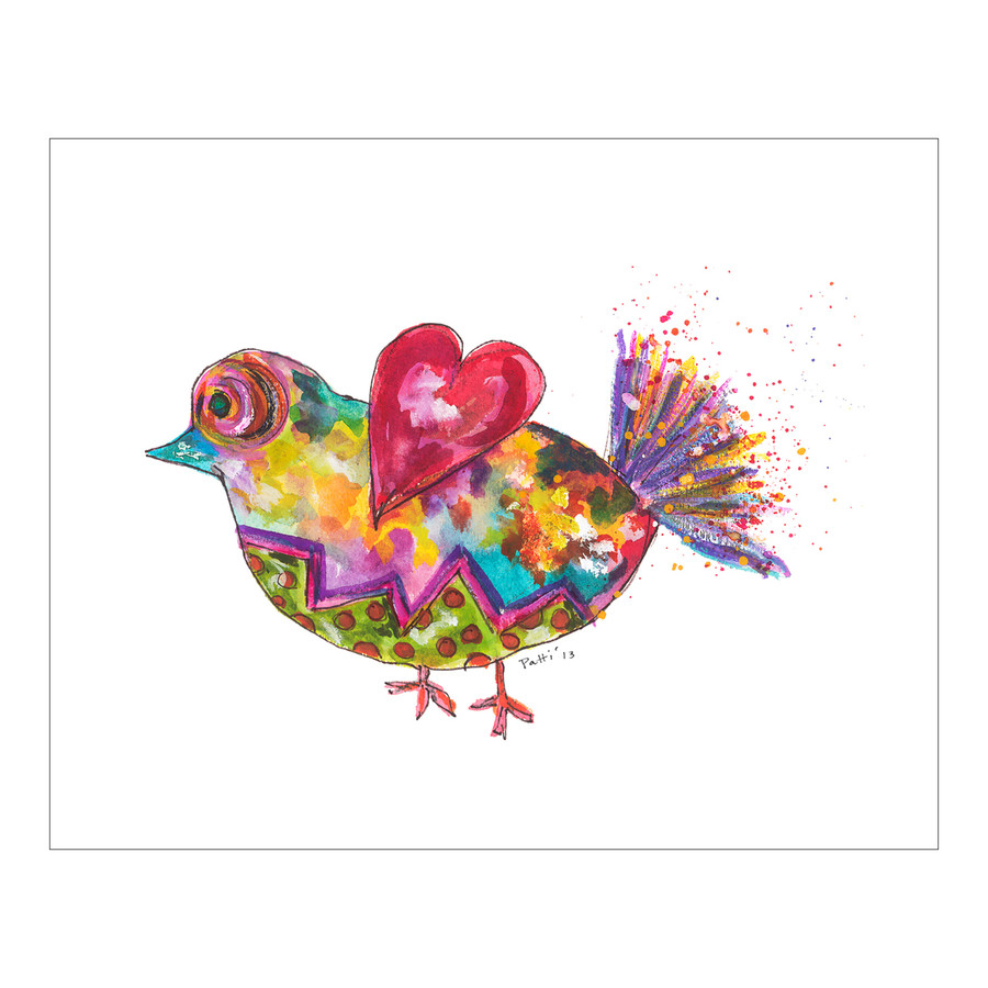 Whimsical Finch