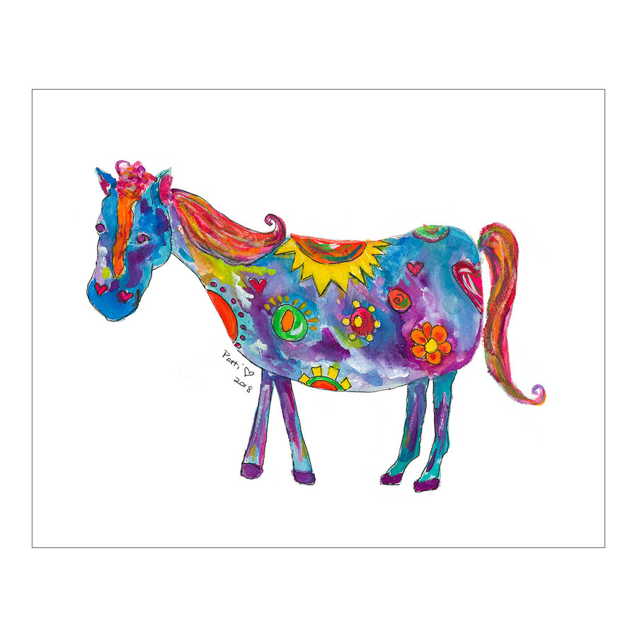 Whimsical Horse