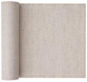 Natural Linen Cocktail Napkin - 50 Units Per Roll