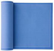 Sea Blue Cotton Luncheon Napkin - 25 Units Per Roll