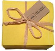 Lemon Cotton Folded Napkin - 20 Units Per Pack