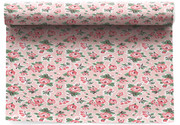 Flowers  Cotton Printed Placemat - 6 Units Per Roll