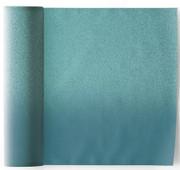 Blue/Blue Printed  Cotton Cocktail Napkin - 50 Units Per Roll