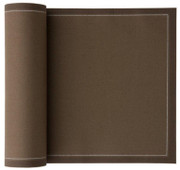 Taupe  Cotton Cocktail Napkin - 50 Units Per Roll