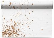 Golden Splash  Linen Printed Placemat Wholesale (10 Rolls)