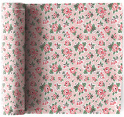 Flowers  Cotton Printed Luncheon Napkin Wholesale (10 Rolls)