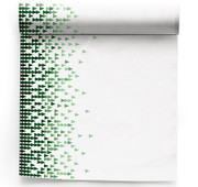 X-Mas Tree  Linen Printed Dinner Napkin Wholesale (10 Rolls)