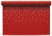 Snowflake  Cotton Printed Placemat Wholesale (10 Rolls)
