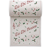 Tis The Season Linen Printed Cocktail Napkin - 50 Units Per Roll