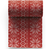 Noel Cotton Printed Cocktail Napkin Wholesale (10 Rolls)