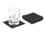 "Black Cotton Cocktail - 4.5"" x 4.5"" - 50 Units"