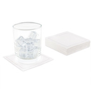 "White Linen Cocktail - 4.5"" x 4.5"" - 50 Units"