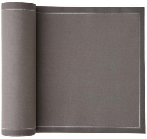 Grey Cotton Premium Dinner Napkin - 25 units Wholesale (10 Rolls)