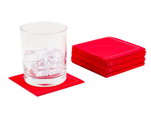 Toreador Cotton 1/4 Fold Cocktail Napkins - 140 GSM (600 x)