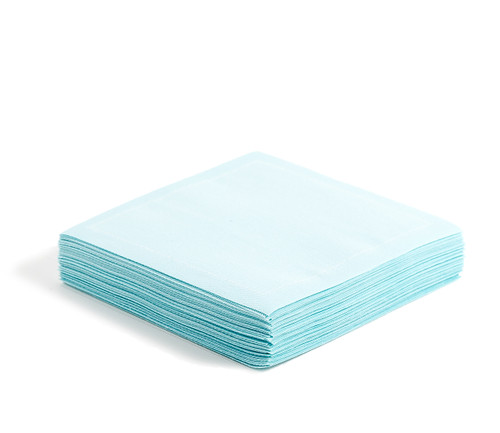 "Sea Glass Cotton Cocktail (200 GSM) - 4.5"" x 4.5"" - 1200 Units"
