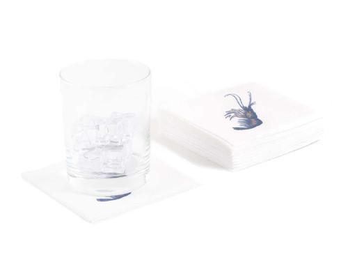 Disposable Napkins – 20 Units Per Pack – Vintage Shrimp