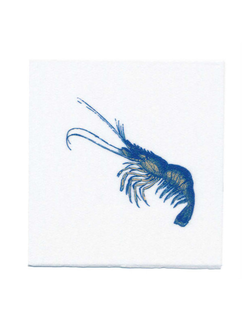Disposable Napkins – 20 Units Per Pack – Vintage Shrimp