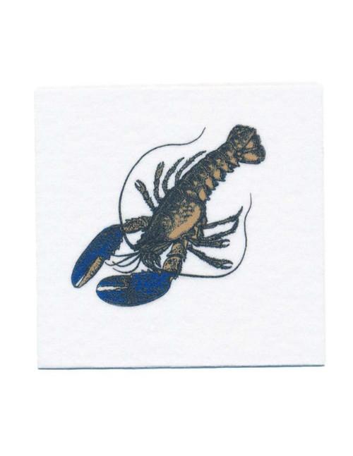 Disposable Napkins – 20 Units Per Pack – Vintage Lobster