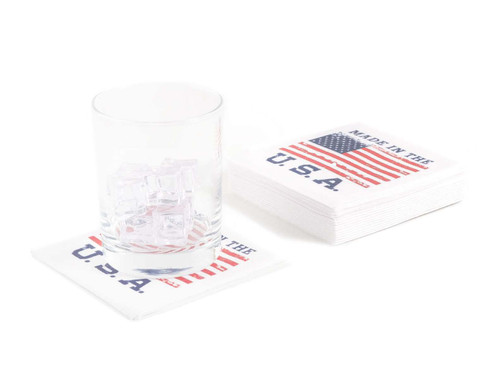 Disposable Napkins – 20 Units Per Pack – Made in the USA