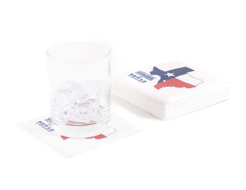 Disposable Napkins – 20 Units Per Pack – Everything's Bigger in Texas