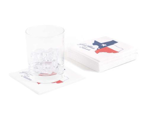 Disposable Napkins – 20 Units Per Pack – God Bless Texas