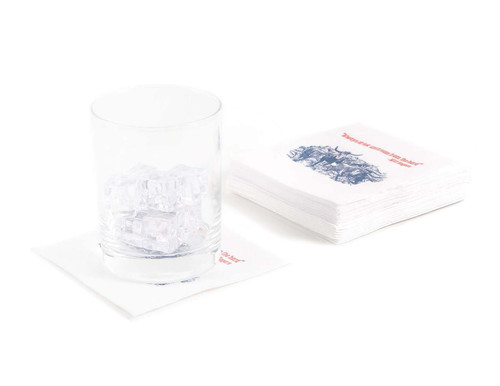 Disposable Napkins – 20 Units Per Pack – Will Rogers Quote