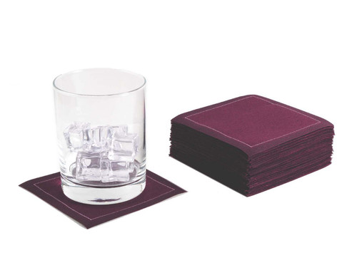 """Pickled Beet Cotton Cocktail (200 GSM) - 4.5"""" x 4.5"""" - 1200 Units"""