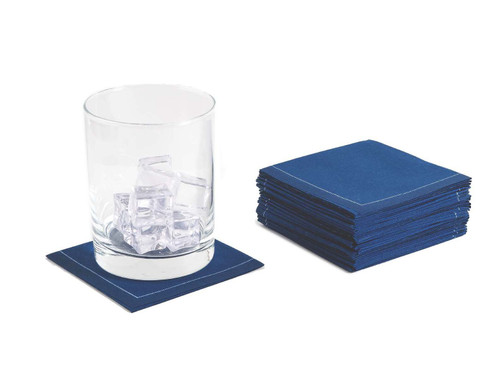 Midnight Blue Cotton 1/4 Fold Cocktail (30 x)