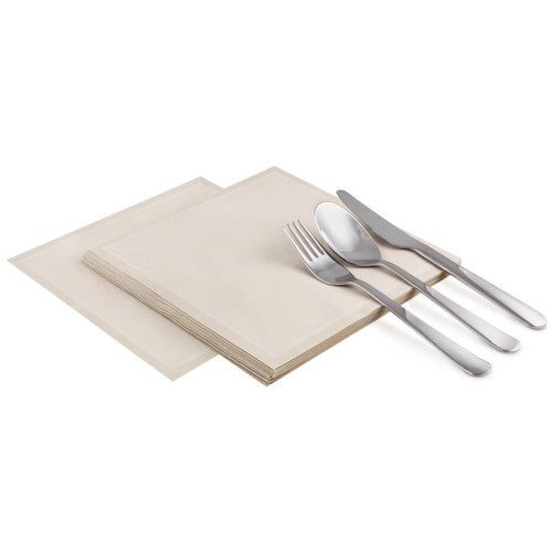 "Sand Cotton Luncheon (200GSM) - 8"" x 8"" - 250 units"