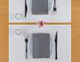 Ecru Linen Premium Dinner Napkin Wholesale (10 Rolls)