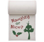 Naughty or Nice Cotton Printed Cocktail Napkin Wholesale (10 Rolls)