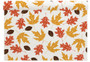 Fall Leaves Linen Printed Placemat - 12 Units Per Roll