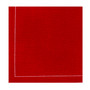 """Red Cotton 1/4 Fold Cocktail - 8"""" x 8"""" (folded 4"""" x 4"""") - 30 units"""