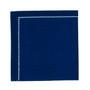 """Midnight Blue 1/4 Fold Cocktail Premium - 8"""" x 8"""" (folded 4"""" x 4"""") - 30 units"""