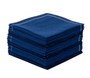 Midnight Blue 1/4 Fold Cocktail Napkins - 200 GSM (30 x)