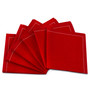Red 1/4 Fold Cocktail Napkins - 140 GSM (600 x)