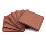 "Friar Brown Cotton 1/4 Fold Cocktail - 8"" x 8"" (folded 4"" x 4"") - 30 units"