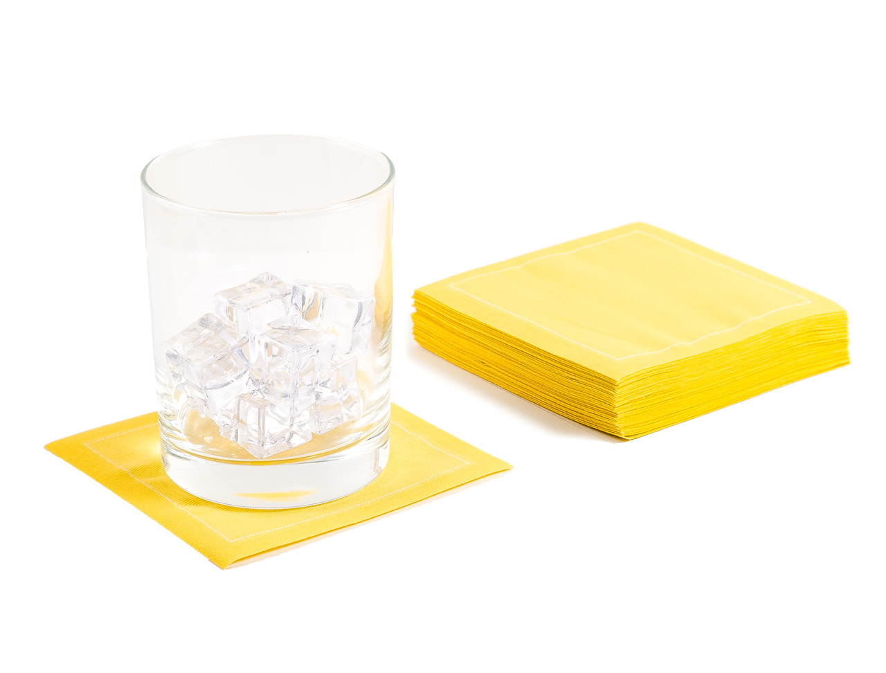 "Citron Cotton Cocktail (200 GSM) - 4.5"" x 4.5"" -1200 Units"
