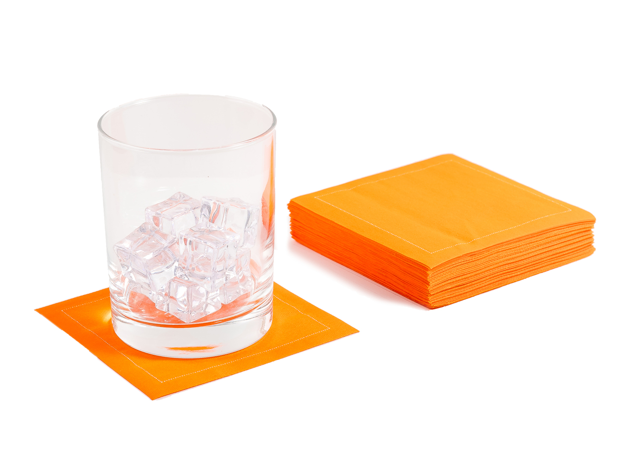 "Persimmon Cotton Cocktail (200 GSM) - 4.5"" x 4.5"" - 1200 Units"