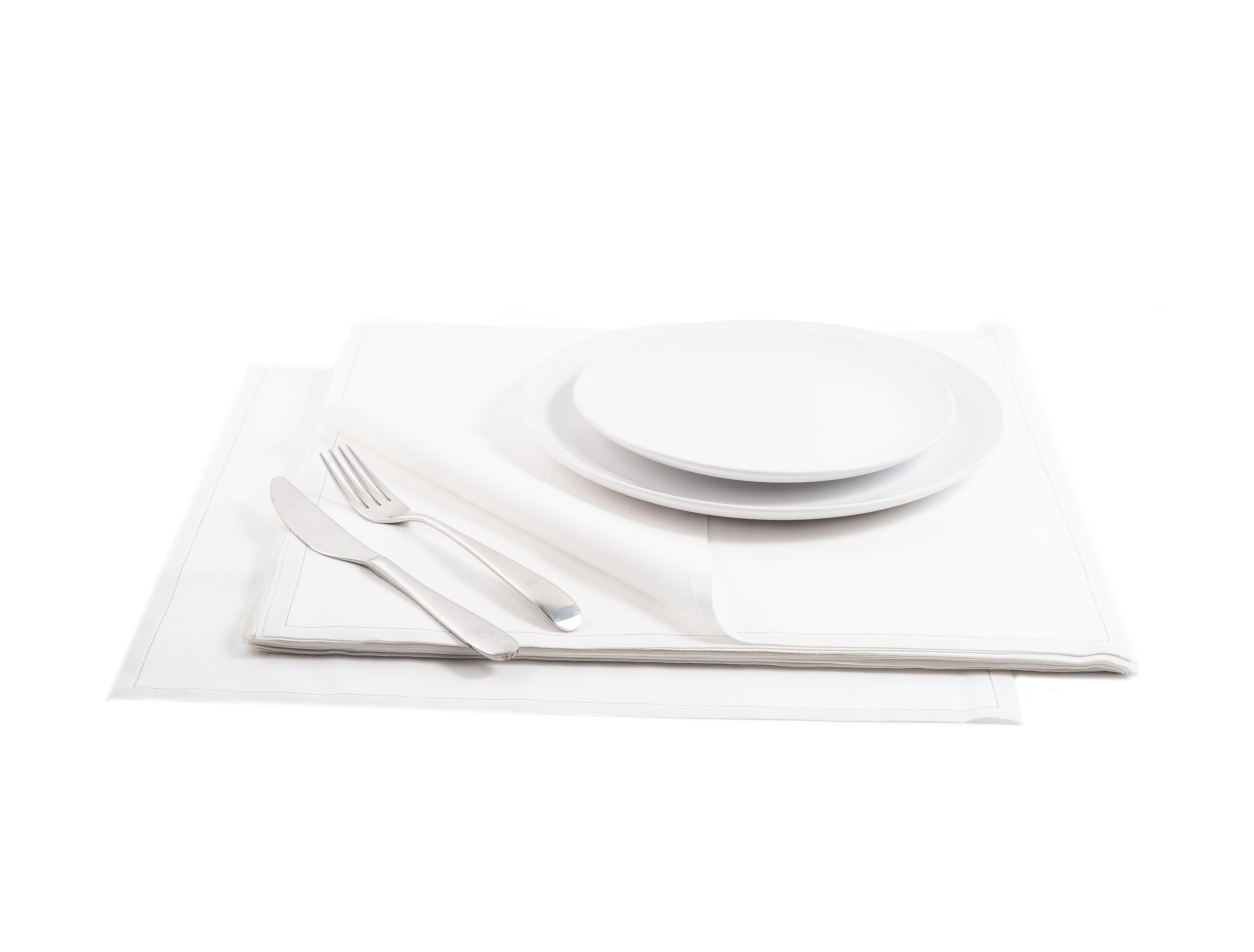 "White Cotton Premium Dinner (200 GSM) - 15.8"" x 15.8"" - 250 Units"