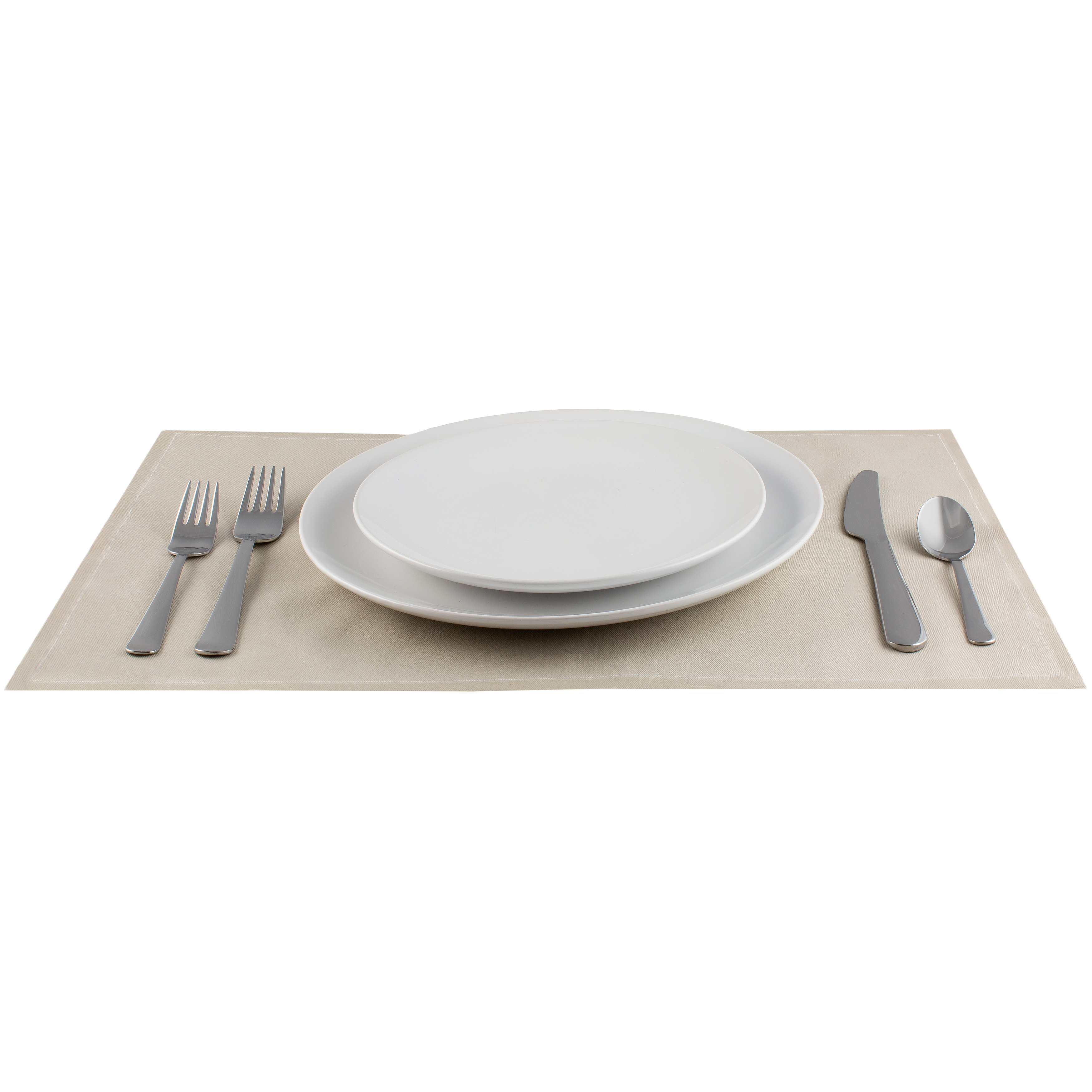 "Sand Cotton Placemat (200 GSM) - 18.9"" x 12.6"" - 250 Units"