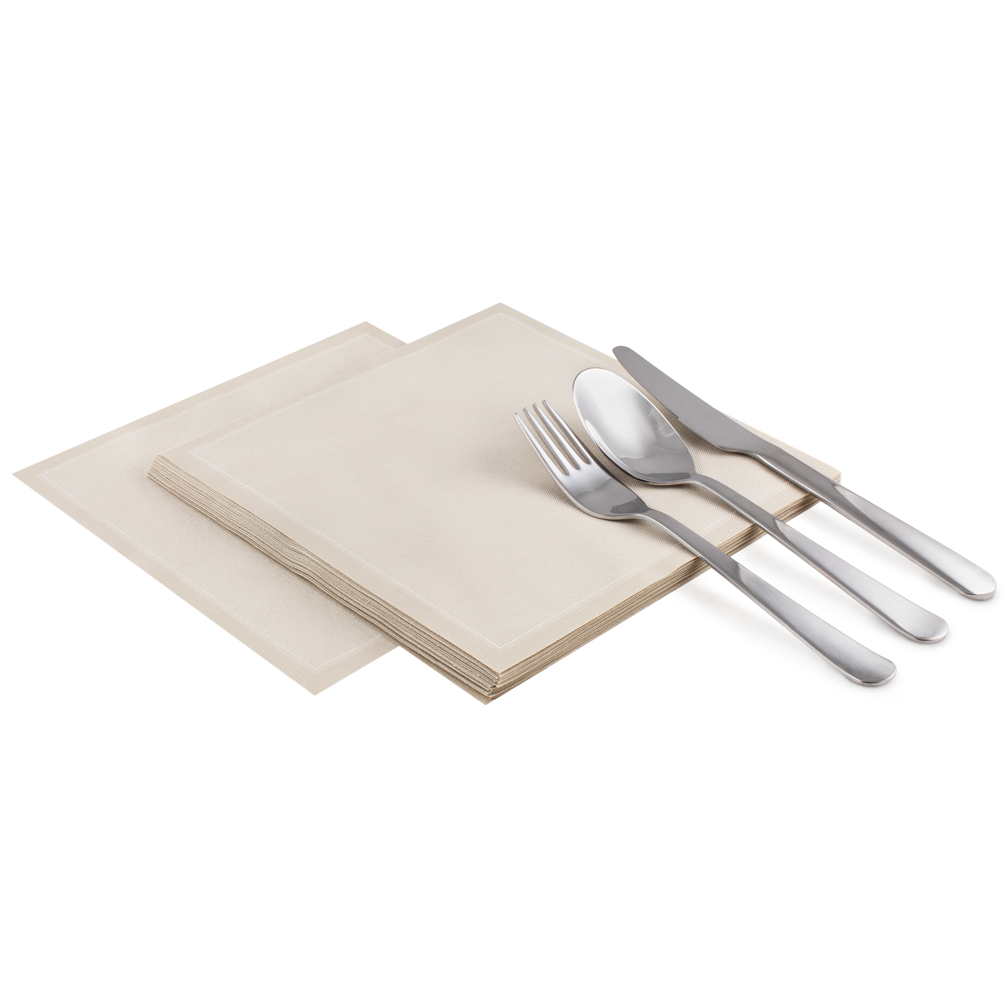 "Sand Cotton Luncheon - 8"" x 8"" - 25 units"
