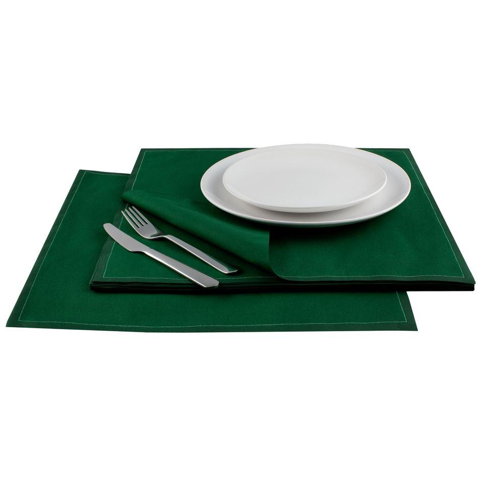"British Racing Green Cotton Premium Dinner (200 GSM) - 15.8"" x 15.8"" - 250 Units"