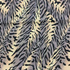 Animal Theme Fabric Print in BLACK/BROWN/GOLD Drapery / Light Upholstery Fabric
