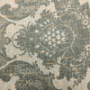 Damask in Deep Green with Bronze | Home Decor Fabric | 56 Wide | By the Yard