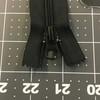 "10"" Coil Zipper | Black | Bags / Pockets"