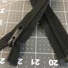 "23.5"" Separating Coil Zipper | Black | YKK Brand | Jacket Zipper"