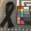"22"" Separating Coil Zipper | Black | YKK Brand | Jacket Zipper."